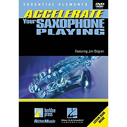 Berklee Press Accellerate Your Saxophone Playing (DVD) (320489)