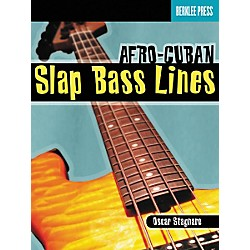 Berklee Press Afro-Cuban Slap Bass Lines (Book/CD) (50449512)