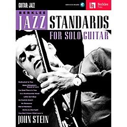 Berklee Press Berklee Jazz Standards For Solo Guitar - Berklee Press Book/CD (50449653)