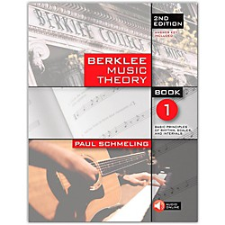 Berklee Press Berklee Music Theory Book 1 (Book/CD) 2nd Edition (50449615)