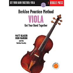 Berklee Press Berklee Practice Method for Viola Book/CD (101383)