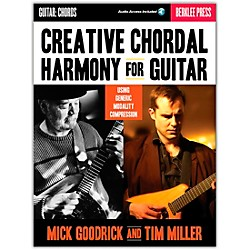 Berklee Press Creative Chordal Harmony For Guitar - Berklee Press Book/CD (50449613)