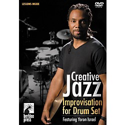 Berklee Press Creative Jazz Improvisation For Drum Set DVD with Yoron Israel (50449549)