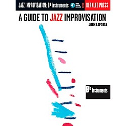 Berklee Press Guide To Jazz Improvisation B Flat Edition Book/CD (50449441)