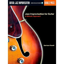 Berklee Press Jazz Improvisation for Guitar Book/CD (50449503)