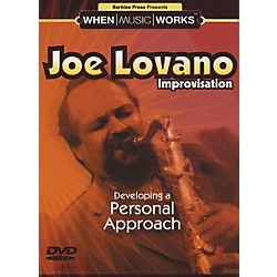 Berklee Press Joe Lovano Improvisation Saxophone (DVD) (50448033)