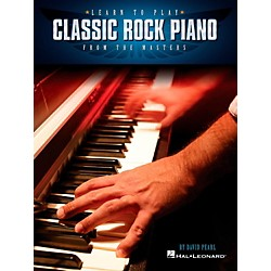 Berklee Press Learn To Play Classic Rock Piano From The Masters (119078)