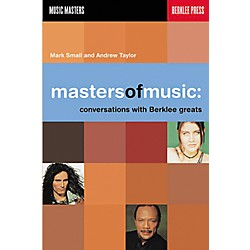 Berklee Press Masters of Music - Conversations with Berklee Greats Book (50449422)