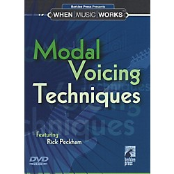 Berklee Press Modal Voicing Techniques Guitar (DVD) (50448016)