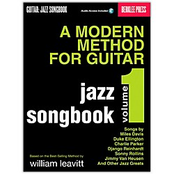 Berklee Press Modern Method For Guitar Songbook: Jazz (Book/CD) (50449539)