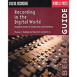 Berklee Press Recording in the Digital World Book (50449472)