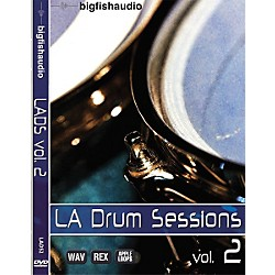 Big Fish LA Drum Sessions Vol. 2 Sample Library DVD (LADS2)