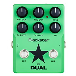 Blackstar Lt Dual 2 Channel Distortion Guitar Effects Pedal (LTDS2)