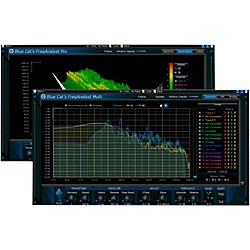 Blue Cat Audio FreqAnalyst Frequency Analysis Plug-in Pack (1035-262)