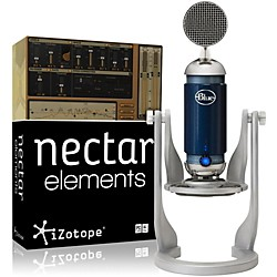 Blue Spark Digital Mic with Nectar Elements Bundle (Spark DigMic NectarElem B)