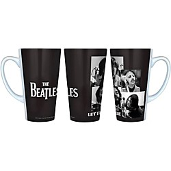 Boelter Brands Beatles Let It Be - Black and White Latte Mug (305676)