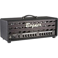 Bogner Uberschall Series 120W Tube Guitar Amp Head with EL34s (USED004375 UBERHEADEL34BL)