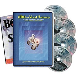 Born to Sing ABCs of Vocal Harmony (4 CDs/Book) (BTS-HD-CD)