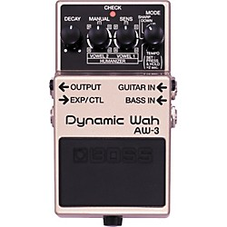 Boss AW-3 Dynamic Wah Guitar Effects Pedal (AW-3)
