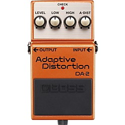 Boss DA-2 Adaptive Distortion Guitar Effects Pedal (DA-2)