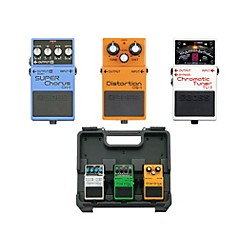 Boss Dave Navarro Pedal Pack (CH-1, TU-3, DS-1) with Free BCB30 Pedalboard (Dave Navarro 3 Pedal Kit)