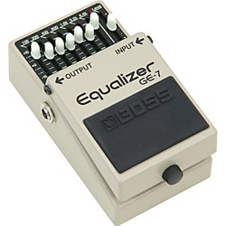 Boss GE-7 Equalizer Pedal (GE-7)