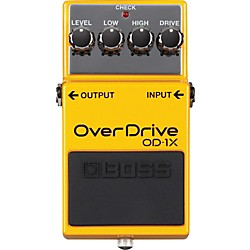 Boss OD-1X Overdrive Guitar Effects Pedal (OD-1X)