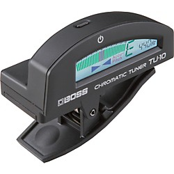 Boss TU-10 Clip-On Chromatic Tuner (TU-10-BK)