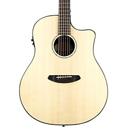 Breedlove Pursuit Dreadnought Ebony Acoustic-Electric Guitar (PURDREDEB)