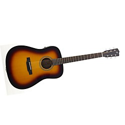 Breedlove Revival D/SMe Burst Acoustic-Electric Guitar (USED004000 Rev-D/SMe-Burs)