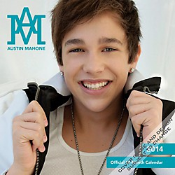 Browntrout Publishing Austin Mahone 2014 Calendar Square 12x12 (9781465021953)