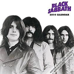 Browntrout Publishing Black Sabbath Calendar Square 12x12 (9781465030689)