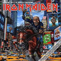 Browntrout Publishing Iron Maiden 2014 Calendar Square 12x12 (9781465017925)