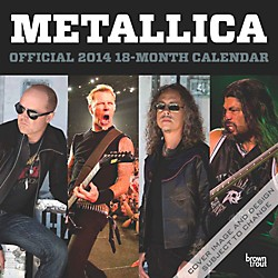 Browntrout Publishing Metallica 2014 Calendar Square 12x12 (9781465011404)