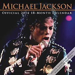 Browntrout Publishing Michael Jackson 2014 Calendar Square 12x12 (9781465011435)
