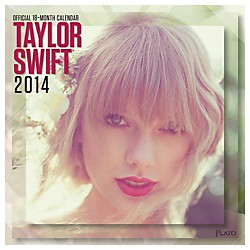 Browntrout Publishing Taylor Swift 2014 Calendar Square 12x12 (9781465018304)