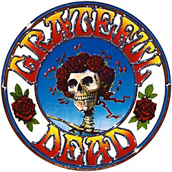 C&D Visionary Grateful Dead Skull & Roses Sticker (S-3015)