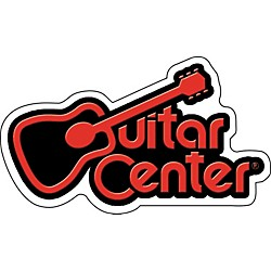 C&D Visionary Guitar Center Logo Sticker (S7376T)