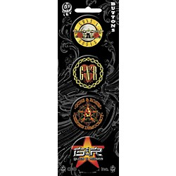 C&D Visionary Guns & Roses Button Set (B4065)