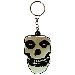 C&D Visionary Misfits Skull Rubber Key Chain (K-0223-R)