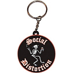 C&D Visionary Social Distortion Logo Rubber Key Chain (K-0580-R)