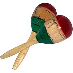 Cannon Percussion Wood Maracas (UPMM)
