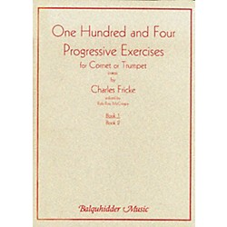 Carl Fischer 104 Progressive Exercises (1903) for Cornet or Trumpet Volume 1 Book (BQ64)