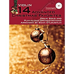 Carl Fischer 14 Advanced Christmas Favorites (Book + CD) (BF81)