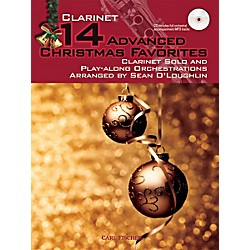 Carl Fischer 14 Advanced Christmas Favorites (Book + CD) (WF135)