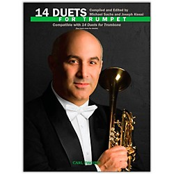 Carl Fischer 14 Duets for Trumpet Book (WF75)