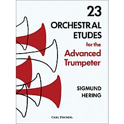 Carl Fischer 23 Orchestral Etudes for the Advanced Trumpeter (O5016)