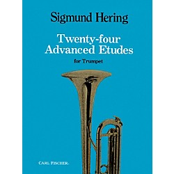Carl Fischer 24 Advanced Etudes for Trumpet (O3442)