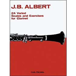 Carl Fischer 24 Varied Scales And Exercises For Clarinet (O99)