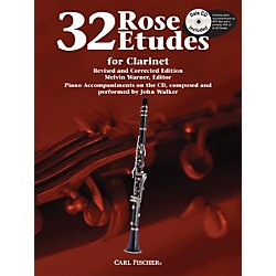 Carl Fischer 32 Rose Etudes for Clarinet (WF85)